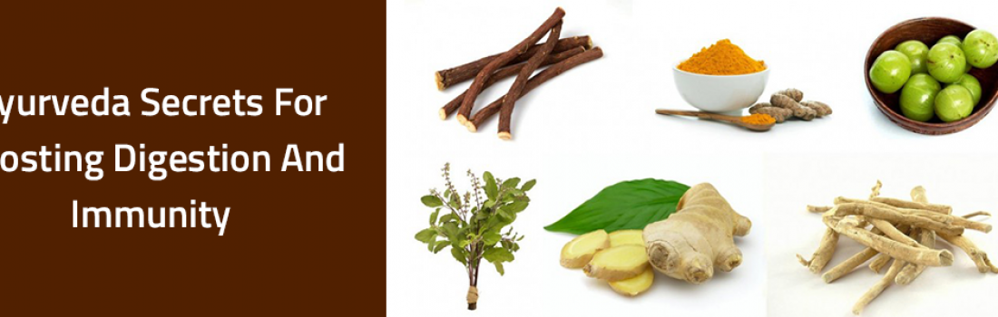 Ayurveda offers well tested prescriptions towards boosted digestion and immunity