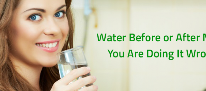 Drinking water before or after meal is bad habit, says Ayurveda!